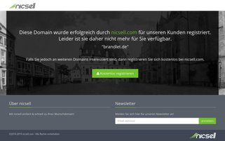 brandlet.de Webseiten Screenshot