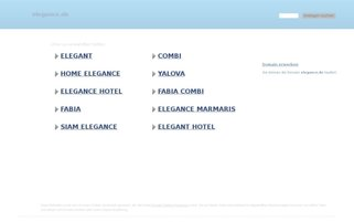 elegance.de Webseiten Screenshot