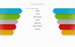 sports-for-less.eu Webseiten Screenshot