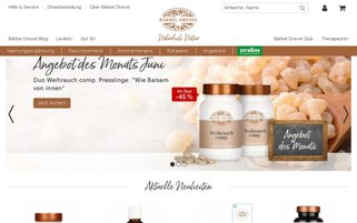 baerbel-drexel.com Webseiten Screenshot