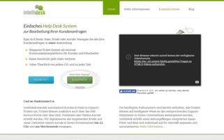 intellidesk.de Webseiten Screenshot