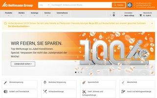Hoffmann Tools Webseiten Screenshot