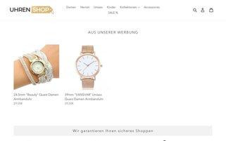 uhren-shop.com Webseiten Screenshot