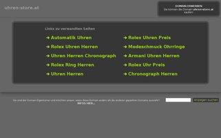 uhren-store.at Webseiten Screenshot