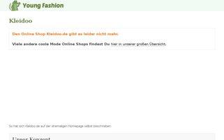 Kleidoo Webseiten Screenshot