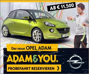 Probefahrt Opel Adam