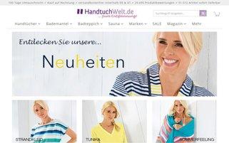 handtuch-welt.de Webseiten Screenshot