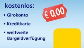 Postbank Konto eröffnen und 100€ Startguthaben geschenkt!