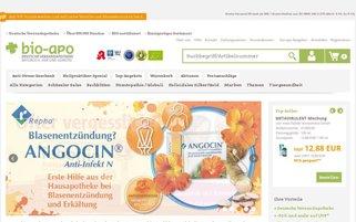BioApo Webseiten Screenshot