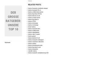 bloove.de Webseiten Screenshot