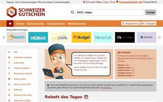 ETANI CH Webseiten Screenshot