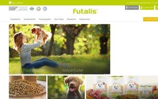 Futalis Webseiten Screenshot
