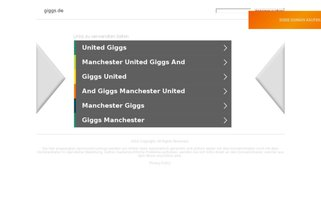 Giggs Webseiten Screenshot