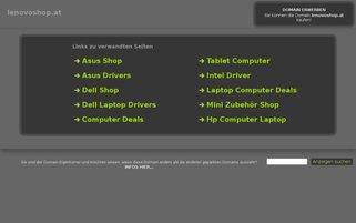 lenovoshop.at Webseiten Screenshot