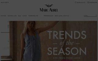 marc-aurel.com Webseiten Screenshot