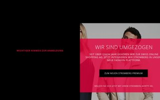 Stromberg CH Webseiten Screenshot