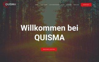 quisma.com Webseiten Screenshot