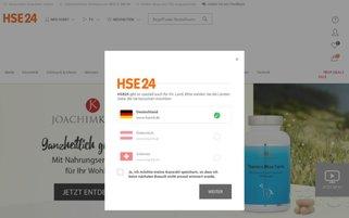 hse24.at Webseiten Screenshot