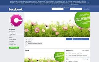 cupoco Webseiten Screenshot
