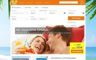 1-2-FLY Webseiten Screenshot