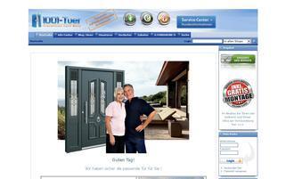 1001-TUER Webseiten Screenshot