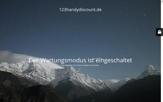 123handydiscount.de Webseiten Screenshot