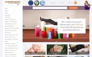 1a-handelsagentur.de Webseiten Screenshot