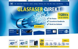 1und1 Webseiten Screenshot