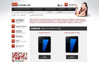 24mobile Webseiten Screenshot