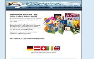 47Print Webseiten Screenshot