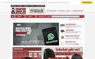 4taktershop.de Webseiten Screenshot