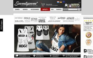 77onlineshop Webseiten Screenshot
