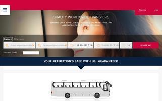 a2b transfers Webseiten Screenshot