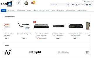 abel.tv Webseiten Screenshot