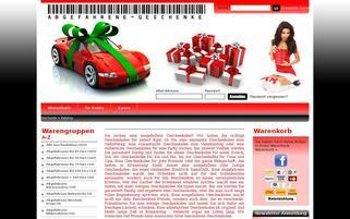 Abgefahrene-Geschenke.de Webseiten Screenshot