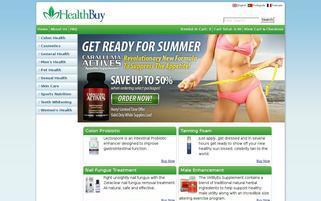 Acaiberry Webseiten Screenshot