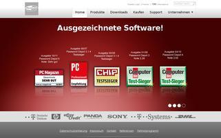 AceBIT Webseiten Screenshot