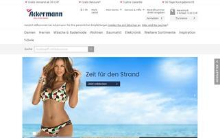 Ackermann Webseiten Screenshot