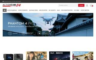 Actioncam24 Webseiten Screenshot