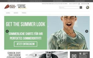 ActiveFashionWorld Webseiten Screenshot