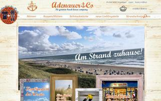 Adenauer & Co Webseiten Screenshot