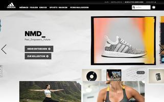 adidas.de Webseiten Screenshot