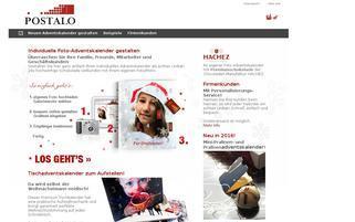 Adventskalender-Gestalten Webseiten Screenshot