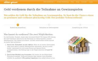 adview-sponsor.de Webseiten Screenshot