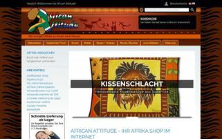 Afrika Shop24 Webseiten Screenshot