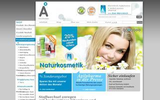 Agilpharma Webseiten Screenshot