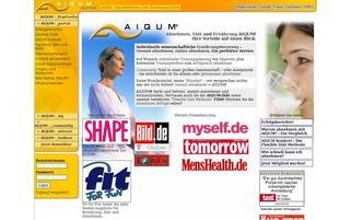 AIQUM Webseiten Screenshot