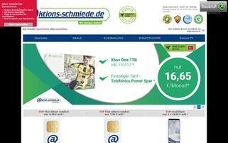 aktions-schmiede.de Webseiten Screenshot