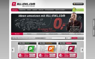 ALL-INKL Webseiten Screenshot