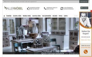 allermoebel.de Webseiten Screenshot